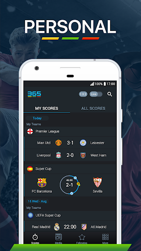 365Scores - Live Scores & Sports News 6.5.3 screenshots 2