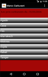 Maroc Carburant: prix & tarifs screenshot 0