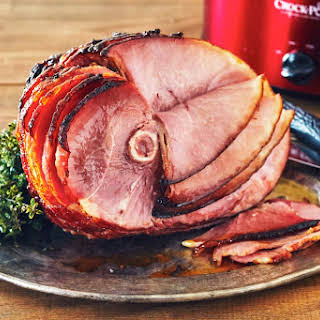 How To Make Thanksgiving Honey Ham in the Slow Cooker.