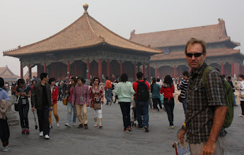 Photo: Day 190 - Rog in  the Forbidden City
