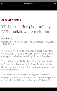 Whittier Daily News- screenshot thumbnail