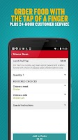 Screenshot of Seamless Food Delivery/Takeout