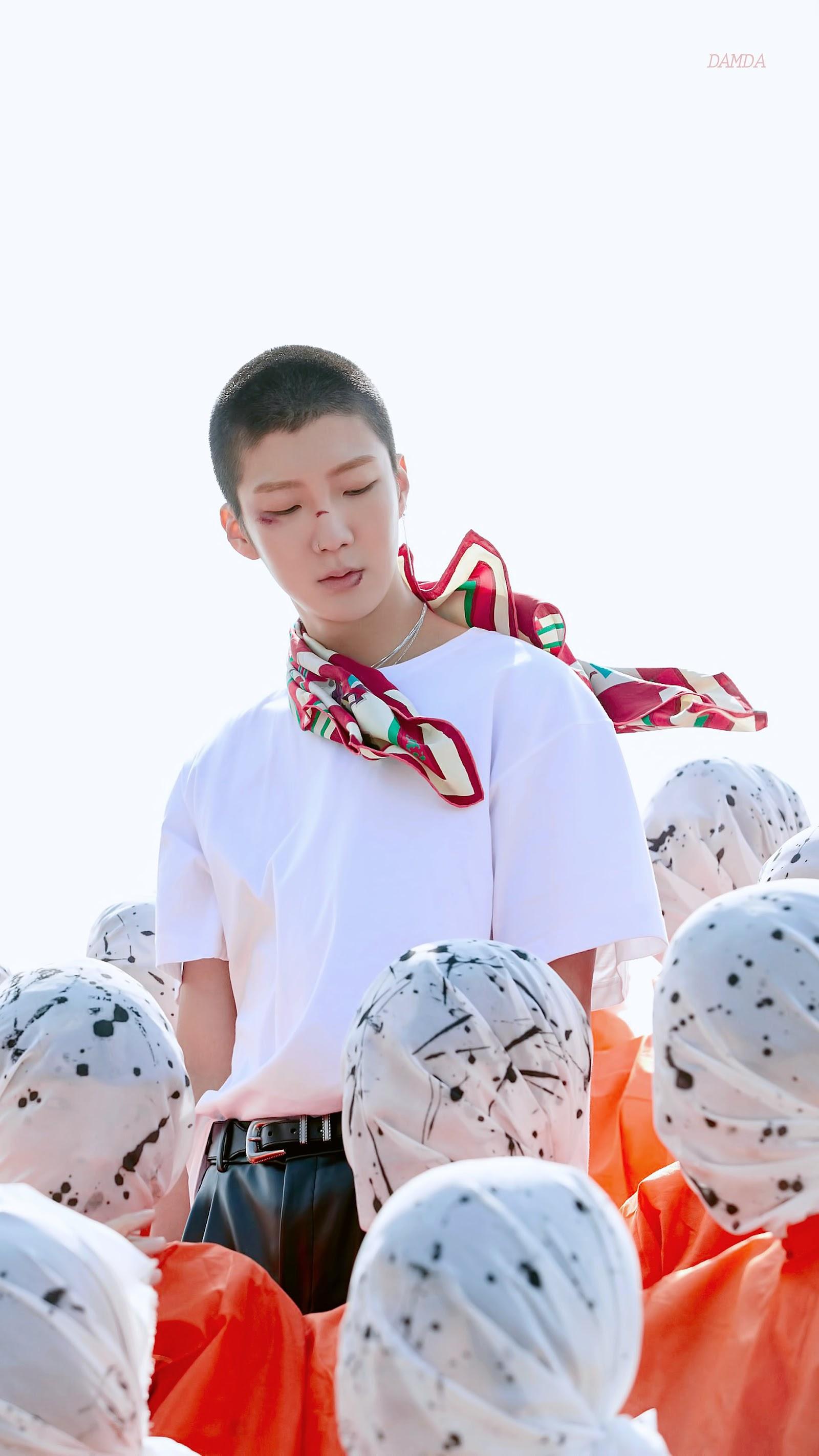 winner seunghoon buzz cut 3