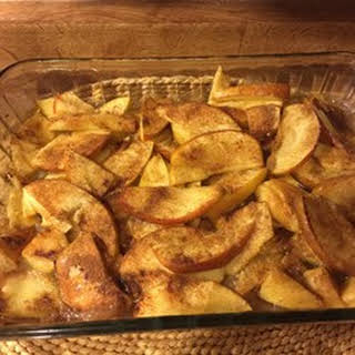 Baked Apple Slices.