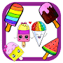 How To Draw a Popsicle ice cream APK icon