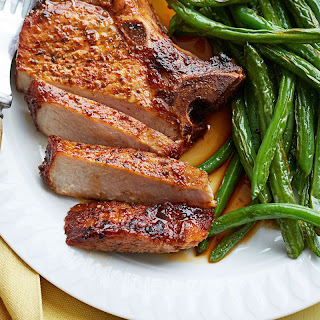 New Orleans Pork and Charred Beans.
