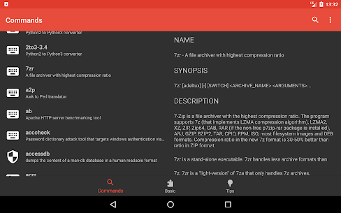 Linux Command Library App Latest Version Download For Android and iPhone 10