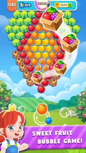 Bubble Blast: Fruit Splash 1.0.8 screenshots 1