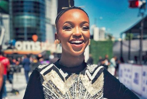 Nandi Madida bags first Sama just days after featuring in 'Black Is King' - TimesLIVE