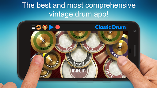 Classic Drum - The best way to play drums! 6.7 screenshots 1