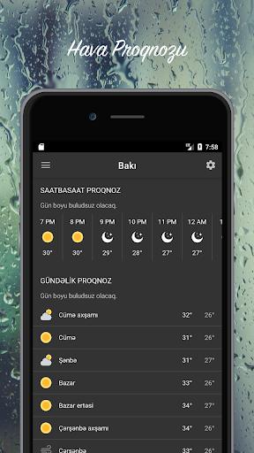 Hava Proqnozu - Azu0259rbaycan 3.0.2 Screenshots 3