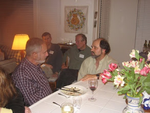 Photo: Professors Paul Ehrlich, Michael McBride, Louis Narens and Stergios Skaperdas