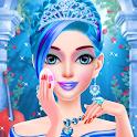 Blue Princess - Makeup Salon Games For Girls icon