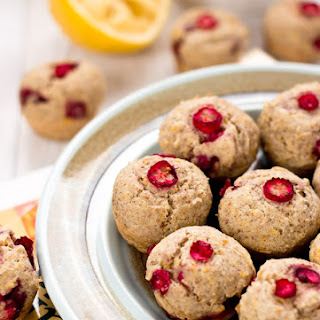 Mini Orange Cranberry Muffins (Vegan/Gluten-Free)
