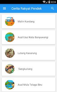 Cerita Rakyat Pendek - náhled