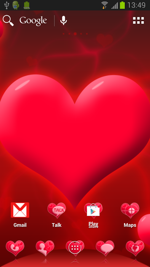 collection image wallpaper: 3d Love Themes