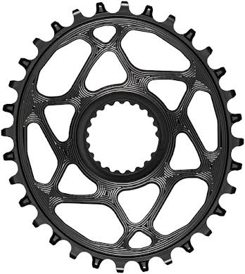 Absolute Black Oval Direct Mount Chainring - Shimano Direct Mount, 3mm Offset, Requires Hyperglide+ Chain alternate image 14