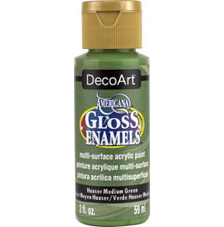 Glasfärg - Hauser Medium Green