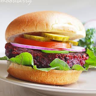 Beet Burgers.
