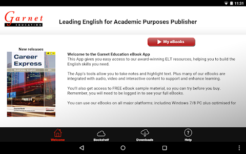 Garnet Education eBooks screenshot 5