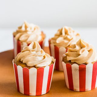 Apple Toffee Cupcakes