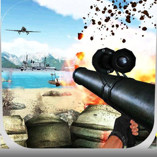 Landing War : Defense Gun Shoot