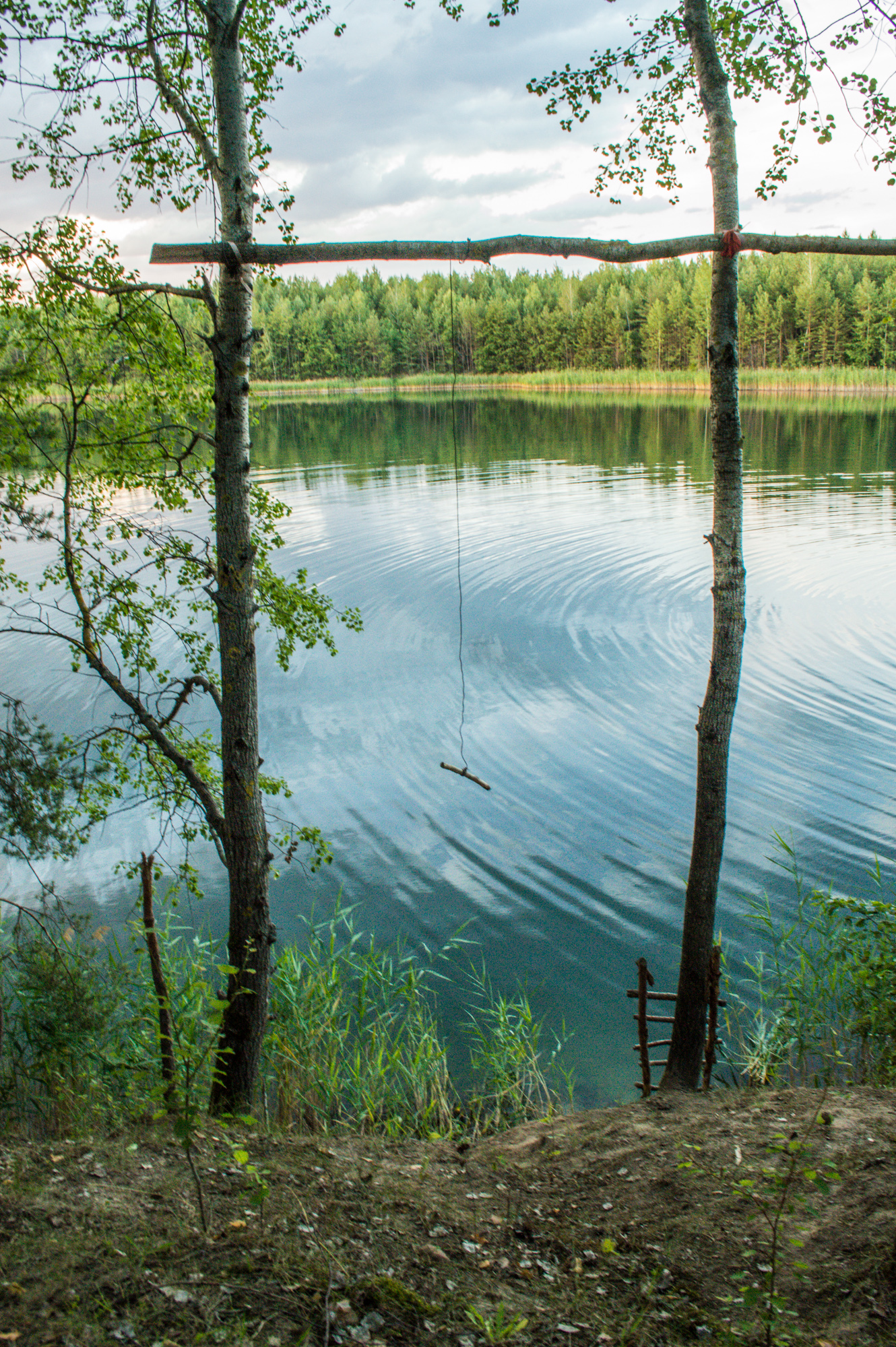 Тарзанка в Кмитові