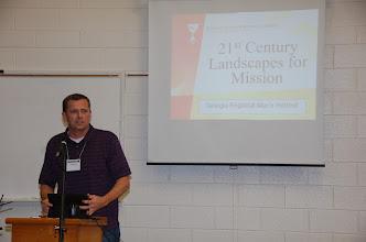 Photo: Keynoter Todd Adams, V.P. of the Christian Church (DOC)