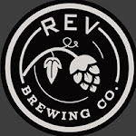 Logo for REV Brewing Co