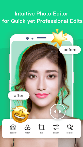 Bloom Camera, Selfie, Beauty Filter, Funny Sticker 0.4.1 screenshots 7