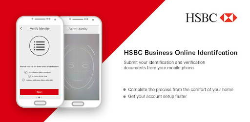 HSBC Business Identification app (apk) free download for Android/PC/Windows screenshot