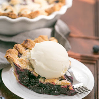 Freeze and Bake Blueberry Pie