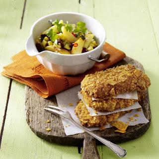 Crispy Pork with Southwest Potato Salad
