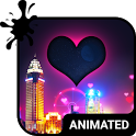 Night Love Animated Keyboard + Live Wallpaper icon