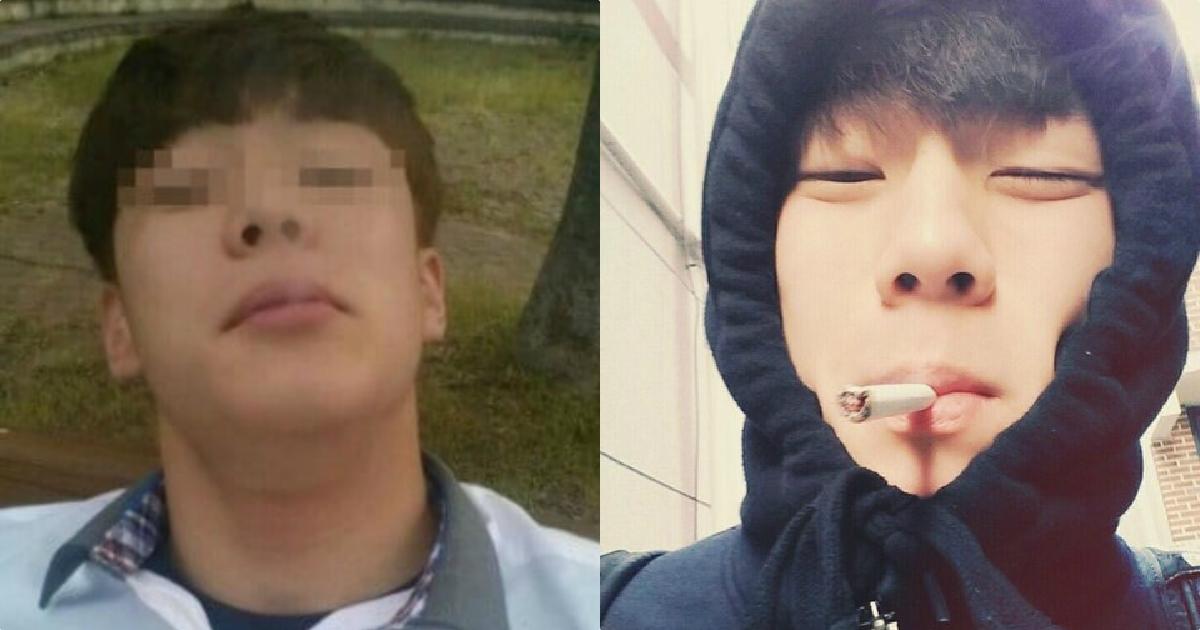 yoon seobin alleged photos of smoking underage