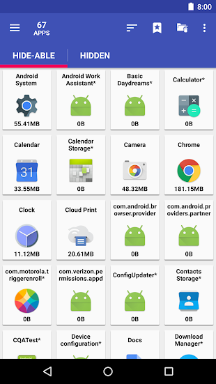 AppMgr Pro III (App 2 SD)- screenshot thumbnail