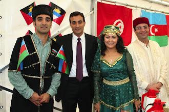 Photo: WMU Students at International Day, July 2012. Countries represented: Azerbaijan, Turkey, and Tunisia