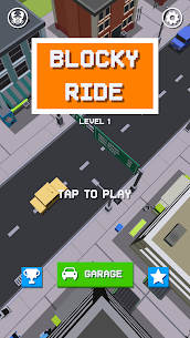 Blocky Ride 1.2.1 Android APK Mod 1