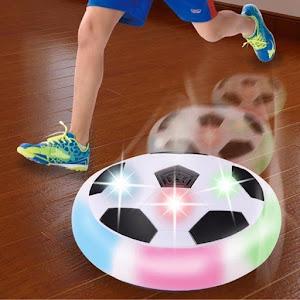 Minge disc fotbal cu aer si lumini oferta reducere 2