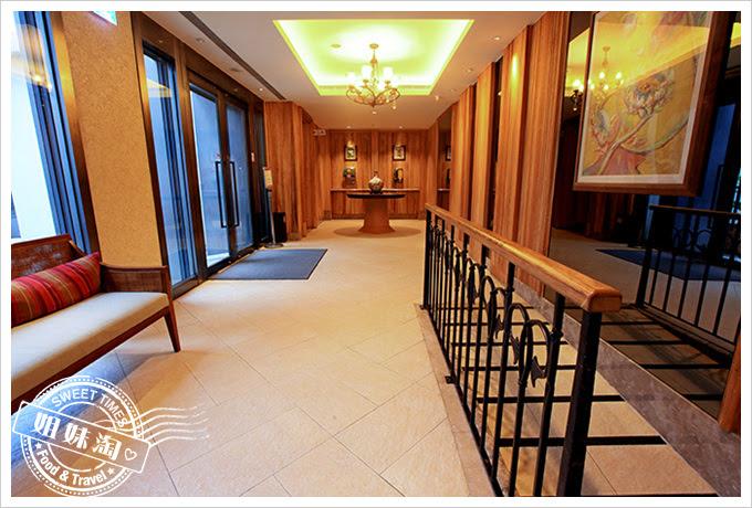 花蓮翰品酒店大廳