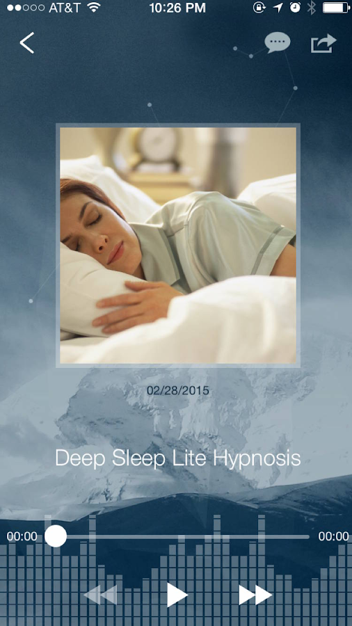 Deep Sleep Hypnosis Free- screenshot