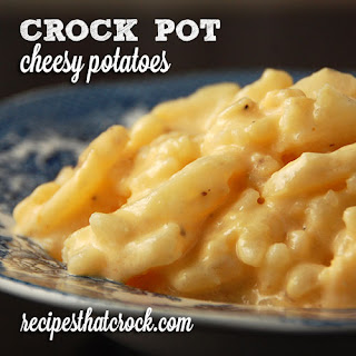 Velveeta Cheesy Potatoes In Crock Pot Recipes.