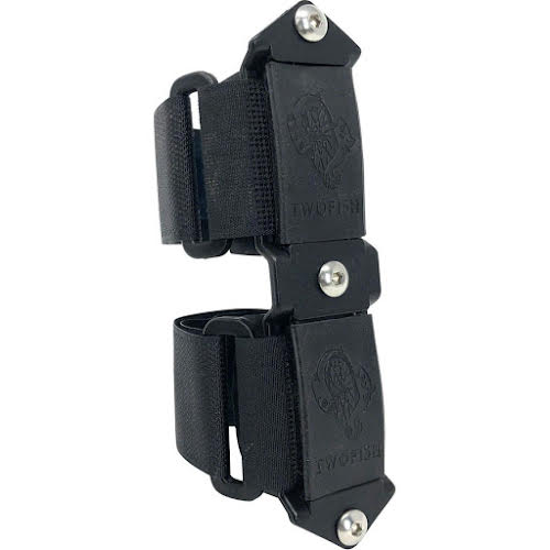TwoFish Quick Cage 3 Bolt Adapter: Black