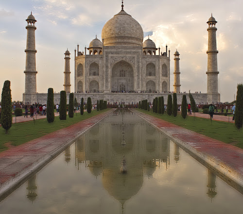An Evening in Taj  by Ashish Jain - Buildings & Architecture Other Exteriors