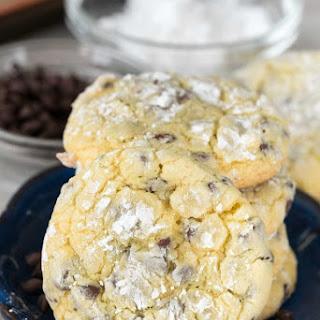 Easy Cake Mix Crinkle Cookies Recipe