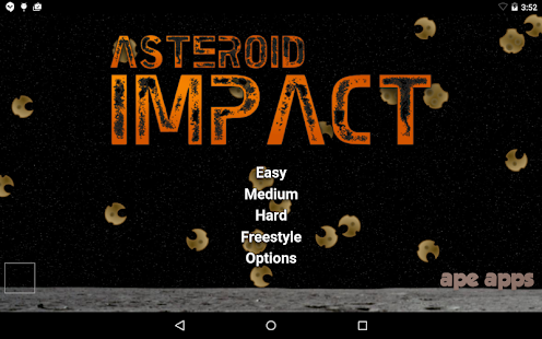 Asteroid Impact- screenshot thumbnail