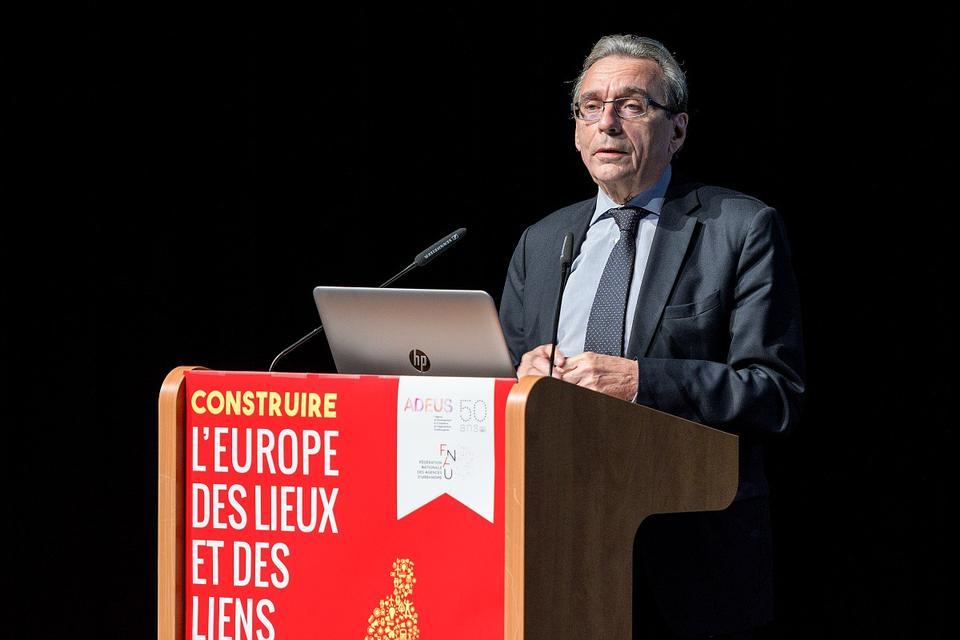 Roland RIES, Maire de la ville de Strasbourg - Plénière d'ouverture de la 38e rencontre des agences d'urbanisme