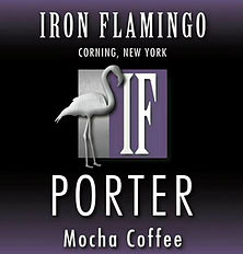 Logo of Iron Flamingo Mocha Coffee Porter