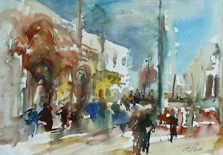 Photo: Venedig, Markusplatz, 56x76cm