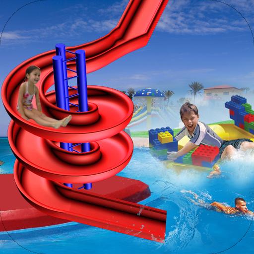 Water Slide Stunt Adventure 3D